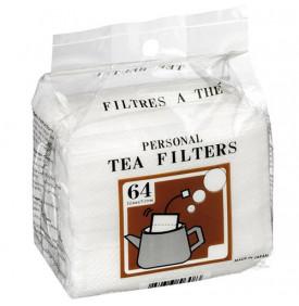 Filtres à thé en papier - boîte de 64