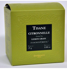 Tisane Citronnelle - Boite de 25 sachets