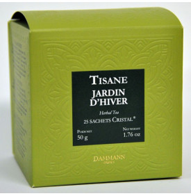 Tisane Jardin d'Hiver - Boite de 25 sachets