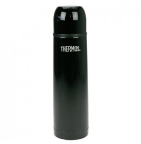 Bouteille THERMOcafé isotherme soft touch noire by Thermos