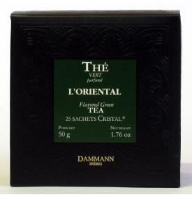 THE VERT L ORIENTAL - Boite de 25 sachets Cristal