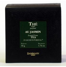 THE VERT DE CHINE JASMIN - Boite de 25 sachets Cristal