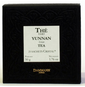 THE VERT DE CHINE YUNNAN - Boite de 25 sachets Cristal