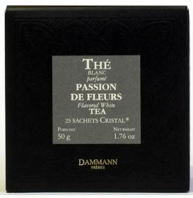 THE BLANC PASSION DE FLEUR - Boîte 25 sachets Cristal
