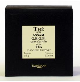 ASSAM G.B.O.P GD JARDIN - Boîte 25 sachets Cristal