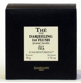 DARJEELING 1st FLUSH GD JARDIN - Boîte 25 sachets Cristal