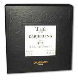 DARJEELING - Boite de 50 sachets cristal