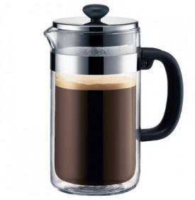 Cafetière à piston BISTRO double paroi 8 tasses