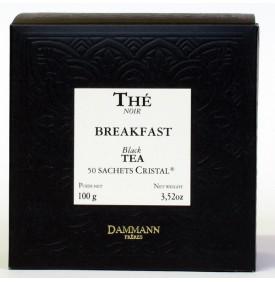 Thé noir Breakfast   50 sachets   Dammann Frères