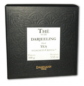 Thé noir Darjeeling | 50 sachets | Dammann Frères