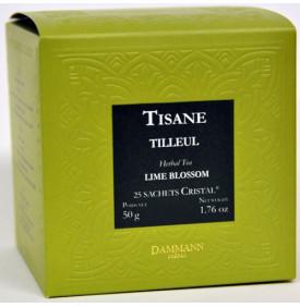 Tisane tilleul - Boite de 25 sachets