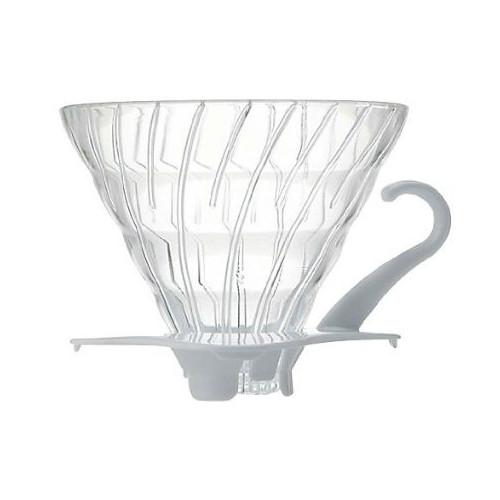 Dripper Hario V60 en verre 1/4 tasses | Mon-Cafe.com