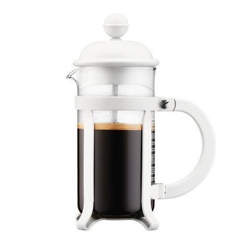 Cafetière à Piston Java Bodum 3 tasses | Blanc | Mon-Cafe.com