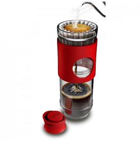 Cafflano Go-Brew Cafetière filtre Nomade Rouge | Mon-Cafe.com