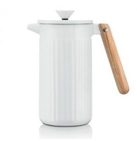 Cafetière à piston Douro porcelaine Blanc 8 tasses - Bodum | Mon-Cafe.com