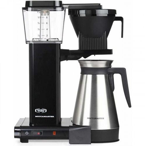 Cafetière filtre Moccamaster KBGT Technivorm - Moccamaster 2 239 Sa fabrication à la main, son design nordique tendance et épuré