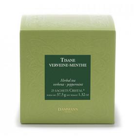 Tisane Verveine Menthe - Boite de 25 sachets Dammann Frères 3 9.499959 Infusion traditionnellement reconnue pour ses propriétés