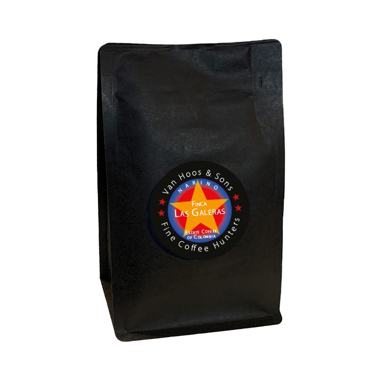 Café 100% arabica Las Galeras - Colombie - 1kg | Van Hoos & Sons®