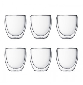Set Tasses BODUM PAVINA 25cl X6