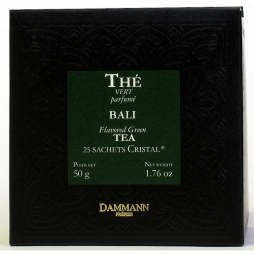 Thé vert Bali   50 sachets   Dammann Frères