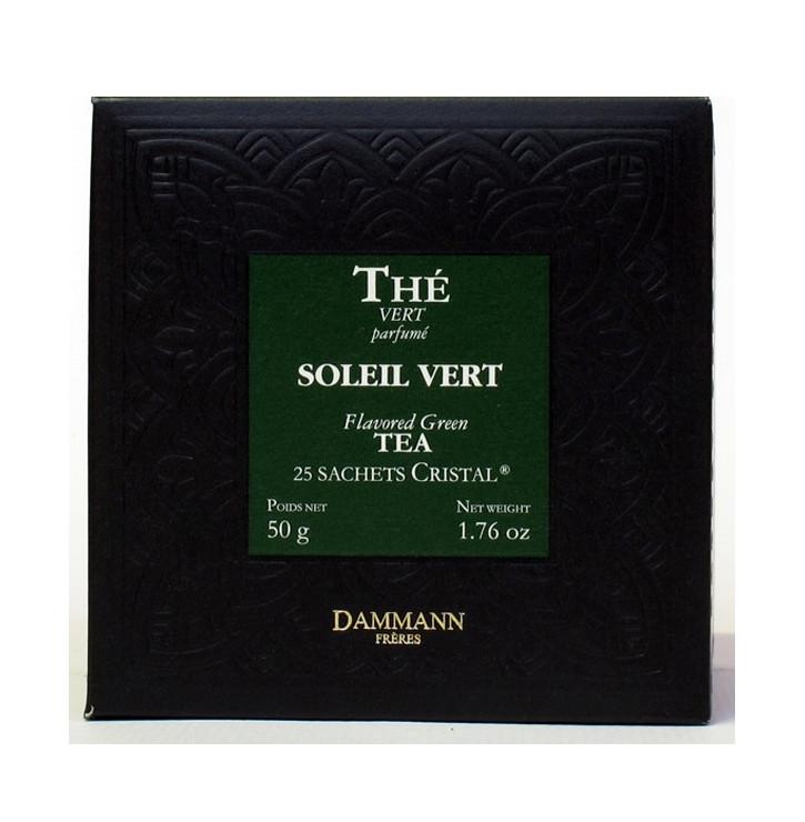 THE VERT SOLEIL VERT- Boîte 25 sachets Cristal
