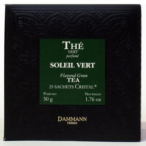 Thé vert Soleil Vert | 50 sachets | Dammann Frères