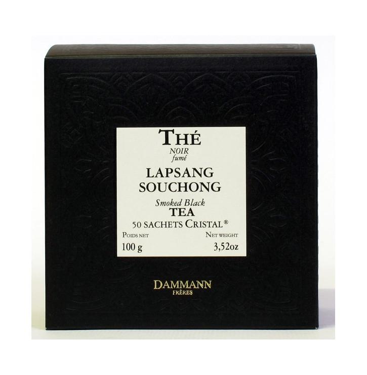 Thé noir Lapsang Souchong | 50 sachet Cristal | Dammann Frères