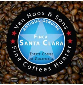 Finca Santa Clara 250 gr Van Hoos & Sons® 2 11.499996 Région Antigua : Le café Finca Santa Clara a obtenu la 3ème place lors la