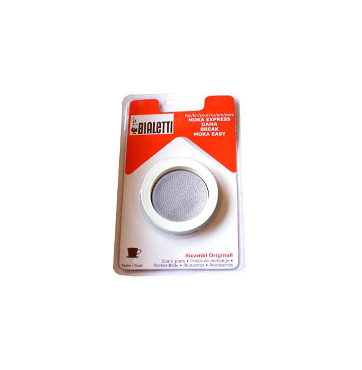 Kit Bialetti 3 joints + filtre Cafetière aluminium
