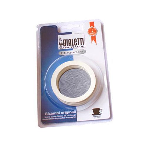 Kit Bialetti 3 joints + filtre Cafetière induction Bialetti 1 6.95004 Un set Bialetti 3 joints + 1 filtre pour votre cafetière i