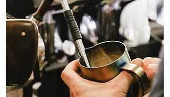Mousseur,  Pot à lait, Shaker
