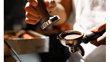 Tamper, Tasseur à café