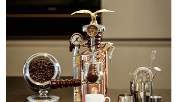 Machine espresso à levier